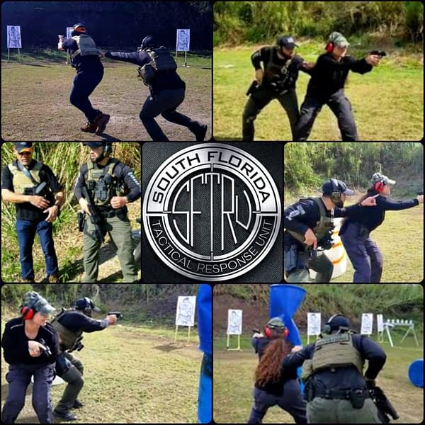 Tactical shooting class of Florida