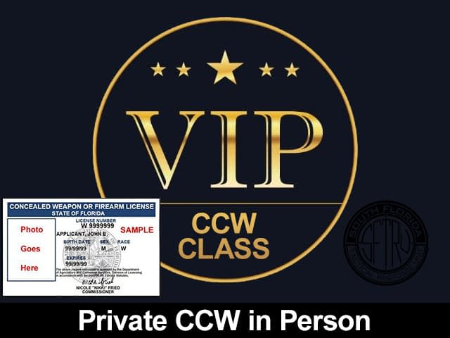 Private Florida Concealed Weapons Class