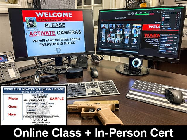 Florida Concealed Weapons Online Class
